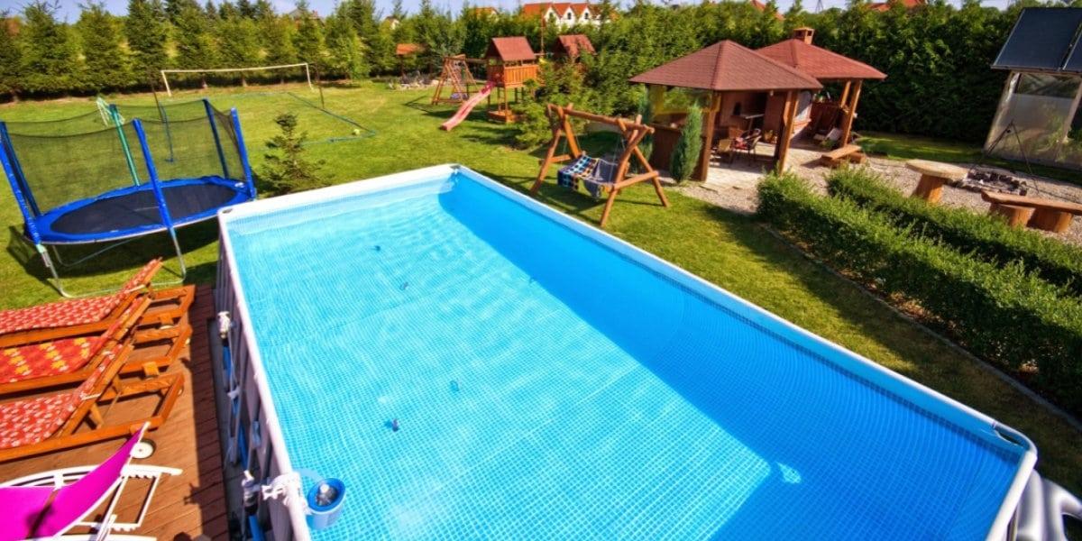 groot opzetzwembad