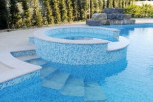 inbouw zwembad beton