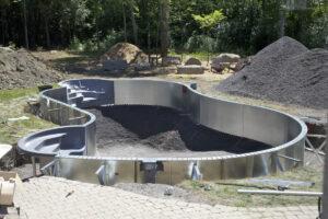inbouw zwembad staal