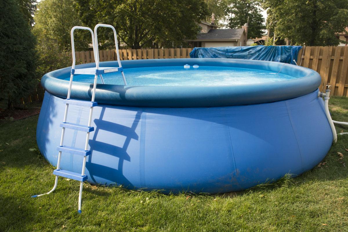 intex zwembad met pomp