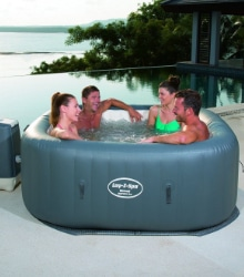 opblaasbare hot tub