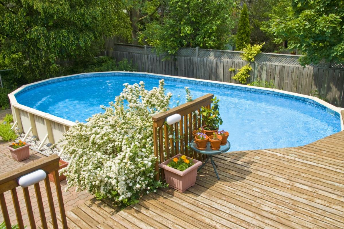 prijs houten zwembad