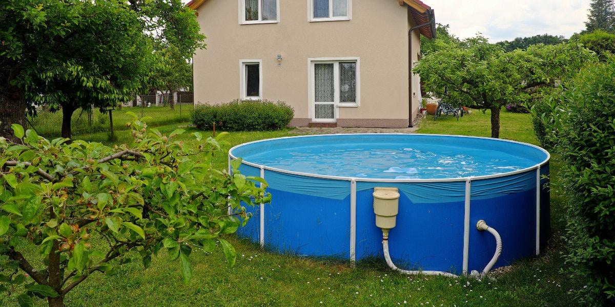 rond opzetzwembad