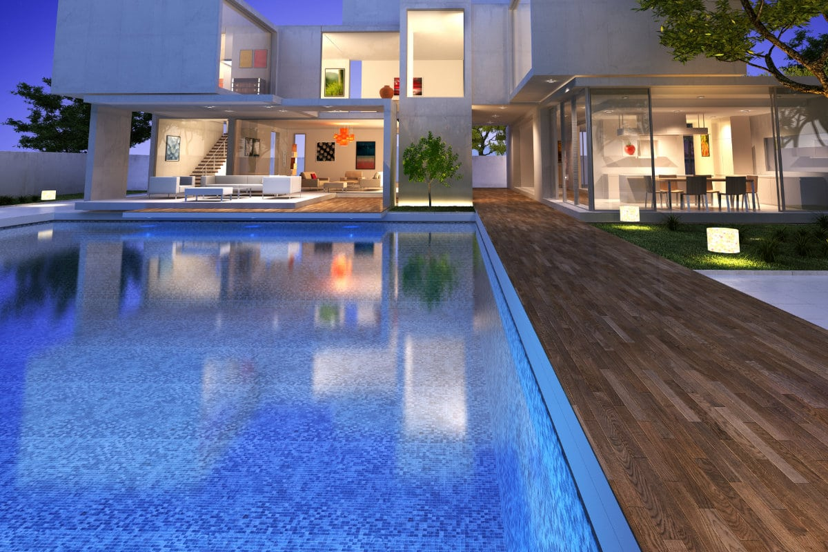 zwembad luxe